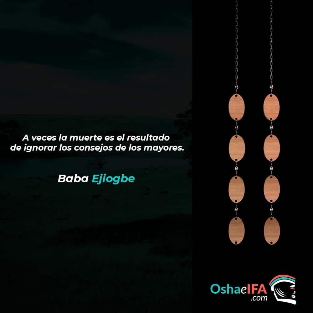 Ejiogbe significado